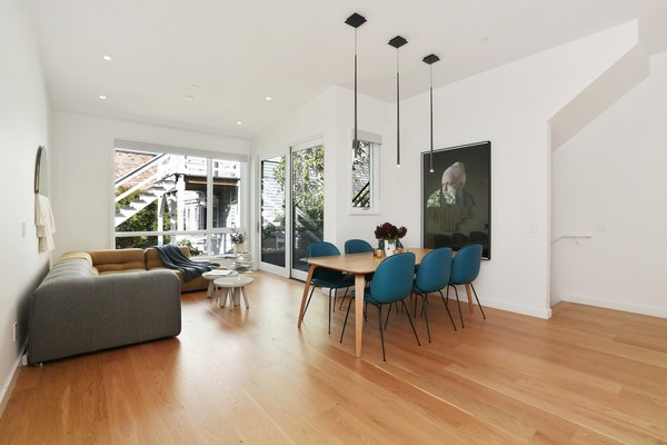 dining room/family room Photo 6 of Lower Pacific Heights modern home