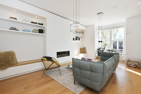 Living room Photo 2 of Lower Pacific Heights modern home