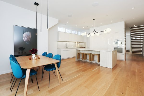 dining room/kitchen Photo 9 of Lower Pacific Heights modern home