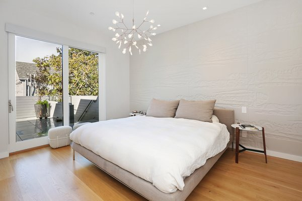master bedroom Photo 12 of Lower Pacific Heights modern home