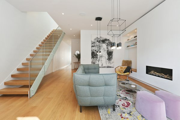 living room Photo 5 of Lower Pacific Heights modern home