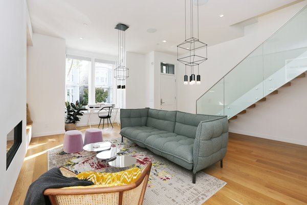 living room Photo 3 of Lower Pacific Heights modern home