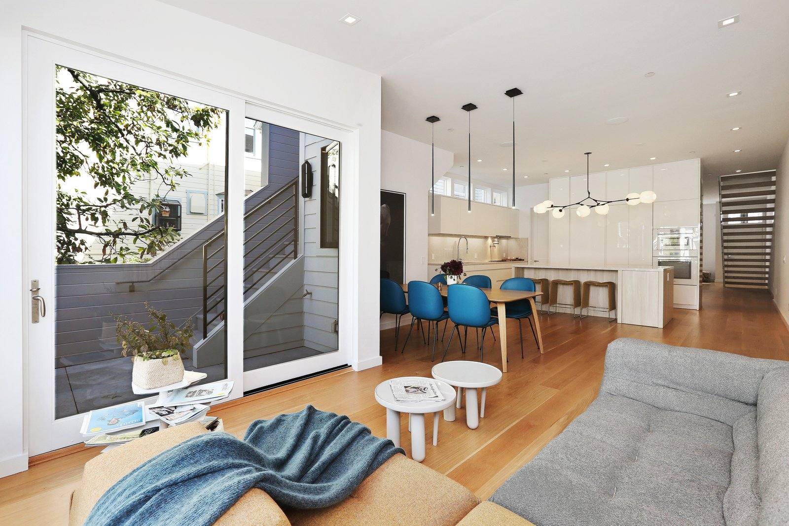 sun room  Lower Pacific Heights by patrick perez/designpad architecture