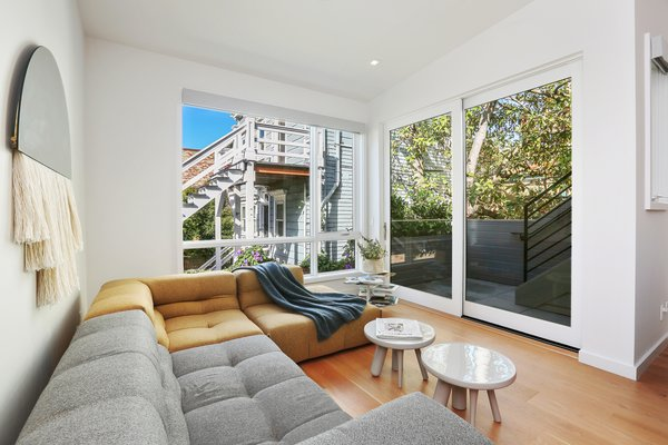sun room Photo 7 of Lower Pacific Heights modern home