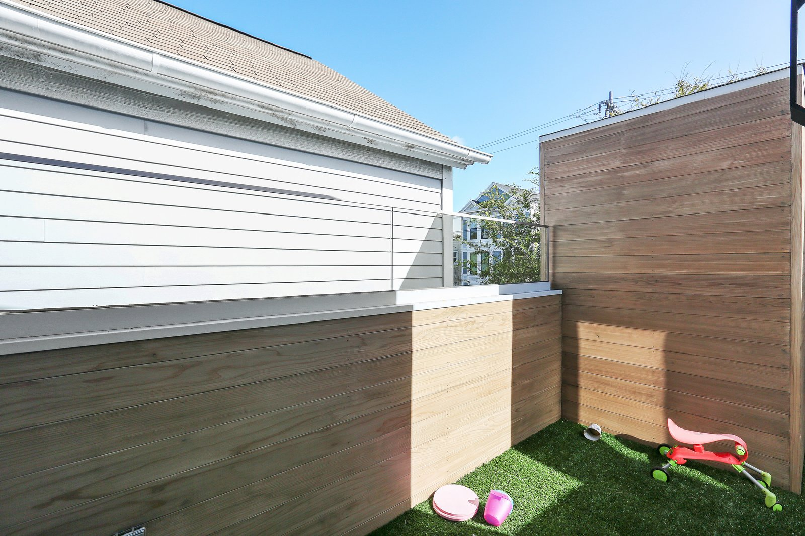 kid's roof deck  Lower Pacific Heights by patrick perez/designpad architecture