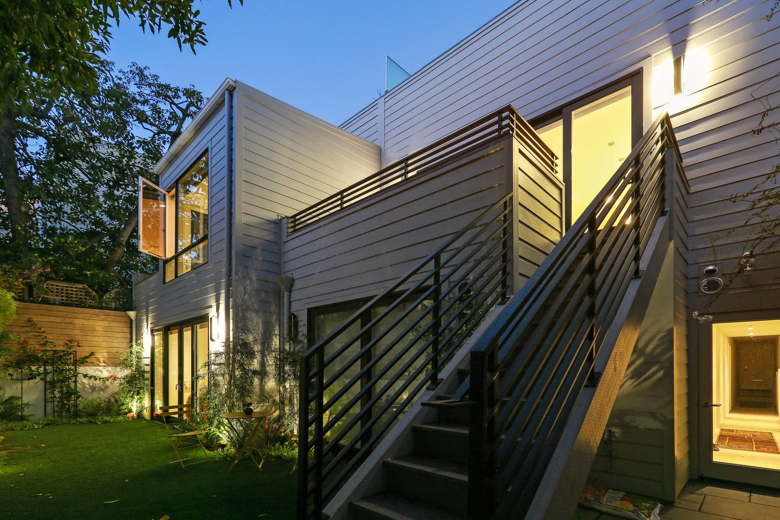 Rear yard  Lower Pacific Heights by patrick perez/designpad architecture