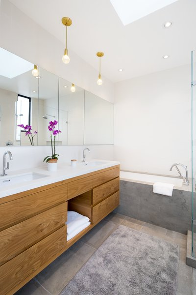 Master bath Photo  of 27th Street - Noe Valley modern home
