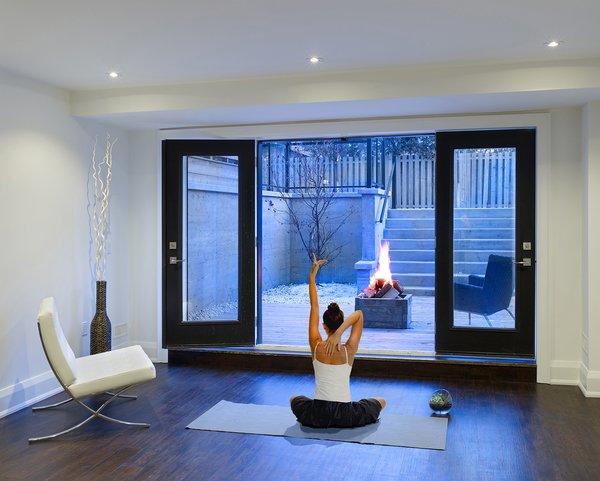 Basement Inspiration  Photo 4 of Garden Void House modern home