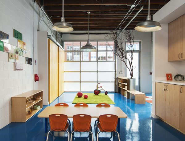 Modern home with kids room. Photo 2 of Sweet Peas Preschool