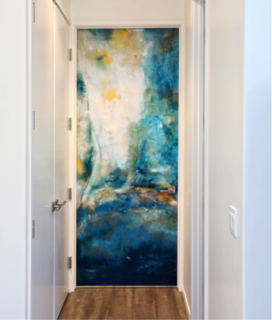 Sargam Griffin's Art Doors Make A Colorful Entrance - Photo 3 of 4 - Armoni