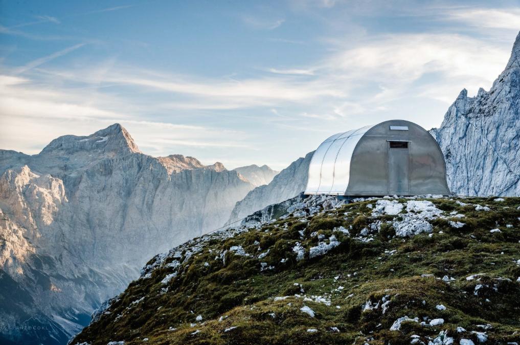 """AO, Alpine Shelter """"Bivak II na Jezerih"""""""
