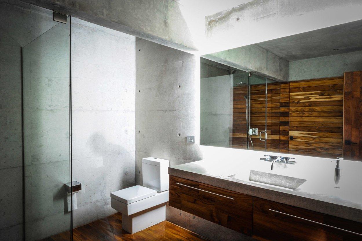 Casa Narigua - P+0 Arquitectura Tagged: Bath Room.  Casa Narigua by P+0 Arquitectura