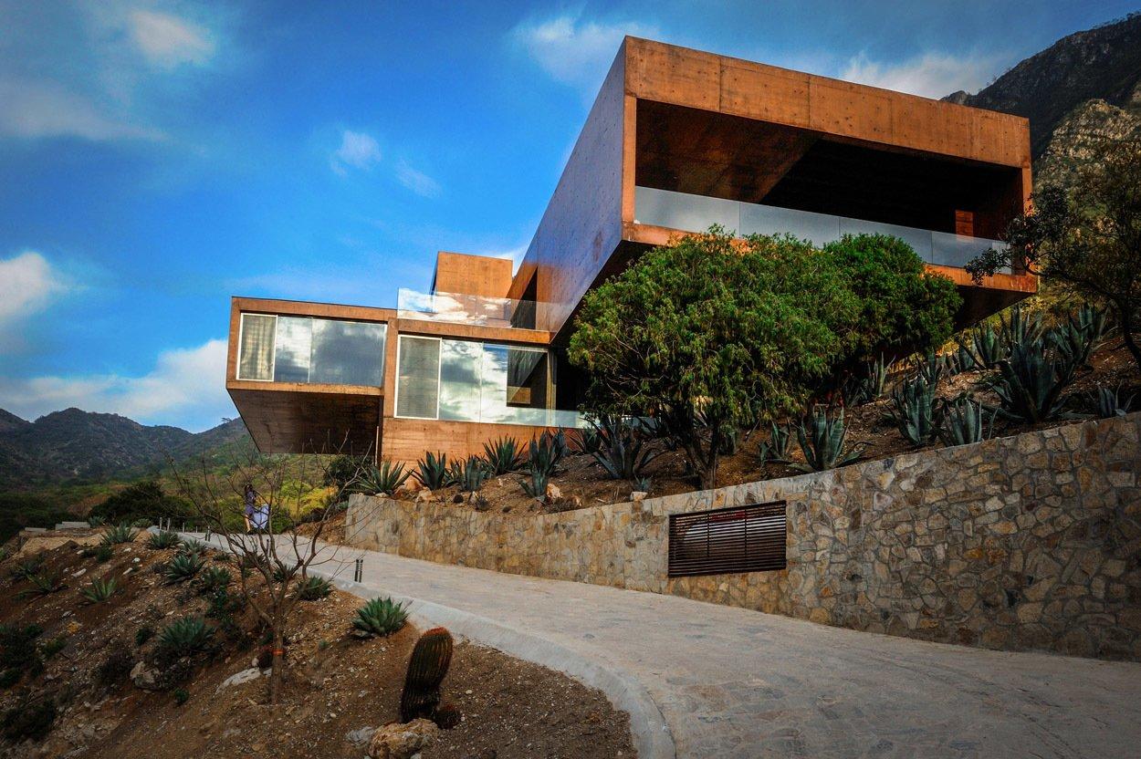 Casa Narigua - P+0 Arquitectura Tagged: Exterior and House.  Casa Narigua by P+0 Arquitectura