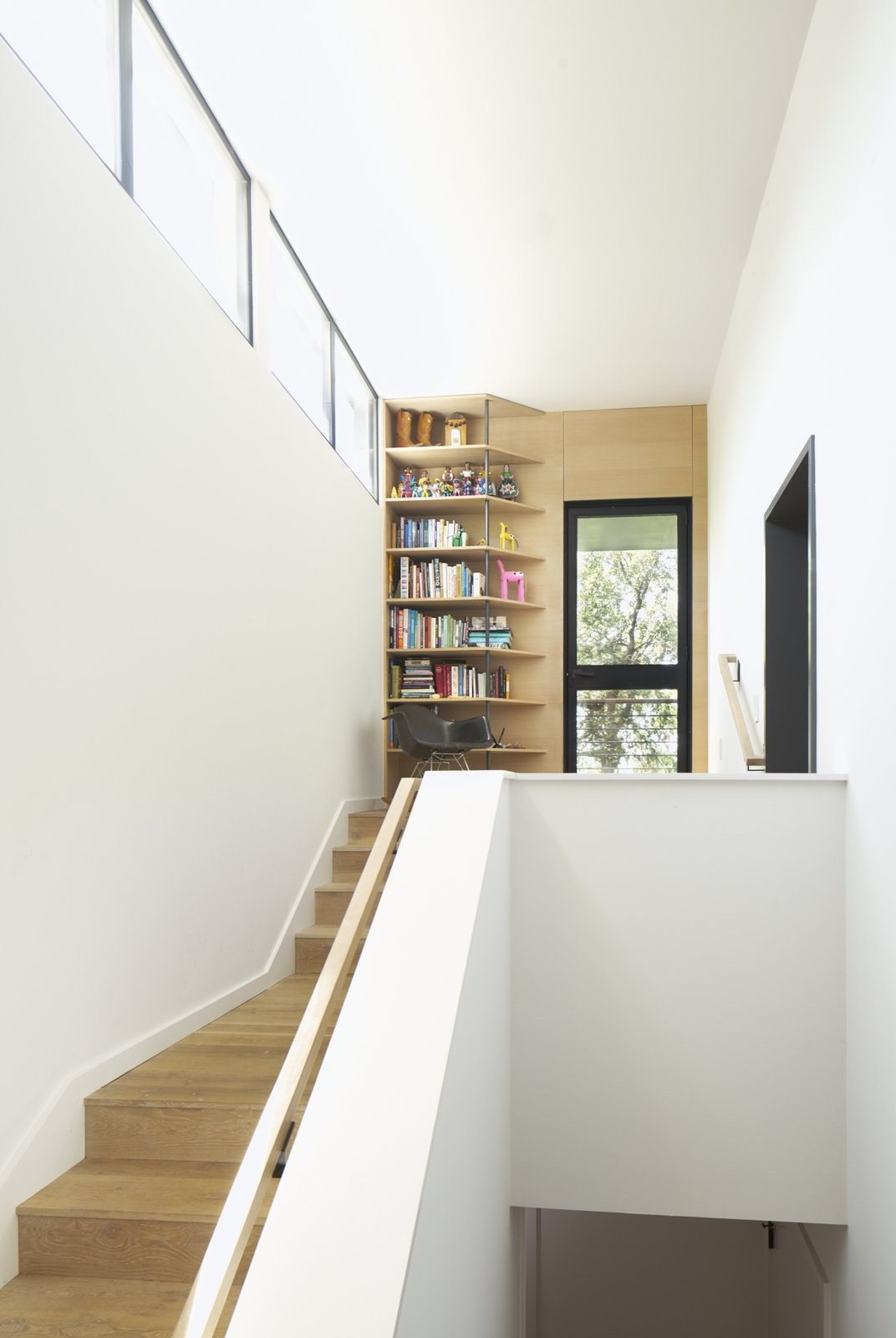 Stair to Master bedroom Airole Way Residence by Jamie Chioco