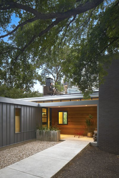 Entry approach Photo 3 of Airole Way Residence modern home