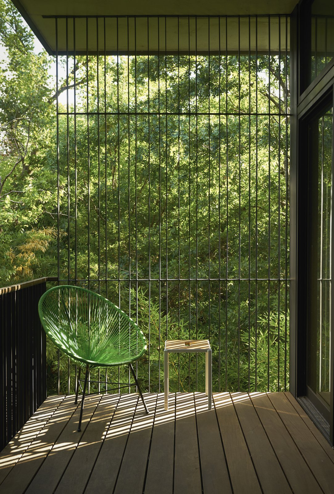 Master bedroom balcony  Airole Way Residence by Jamie Chioco
