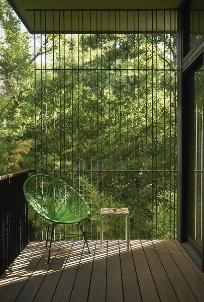 Master bedroom balcony Photo 20 of Airole Way Residence modern home
