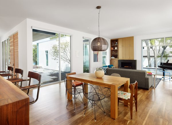 Dining and Living room. Photo 9 of Vance Lane Residence modern home