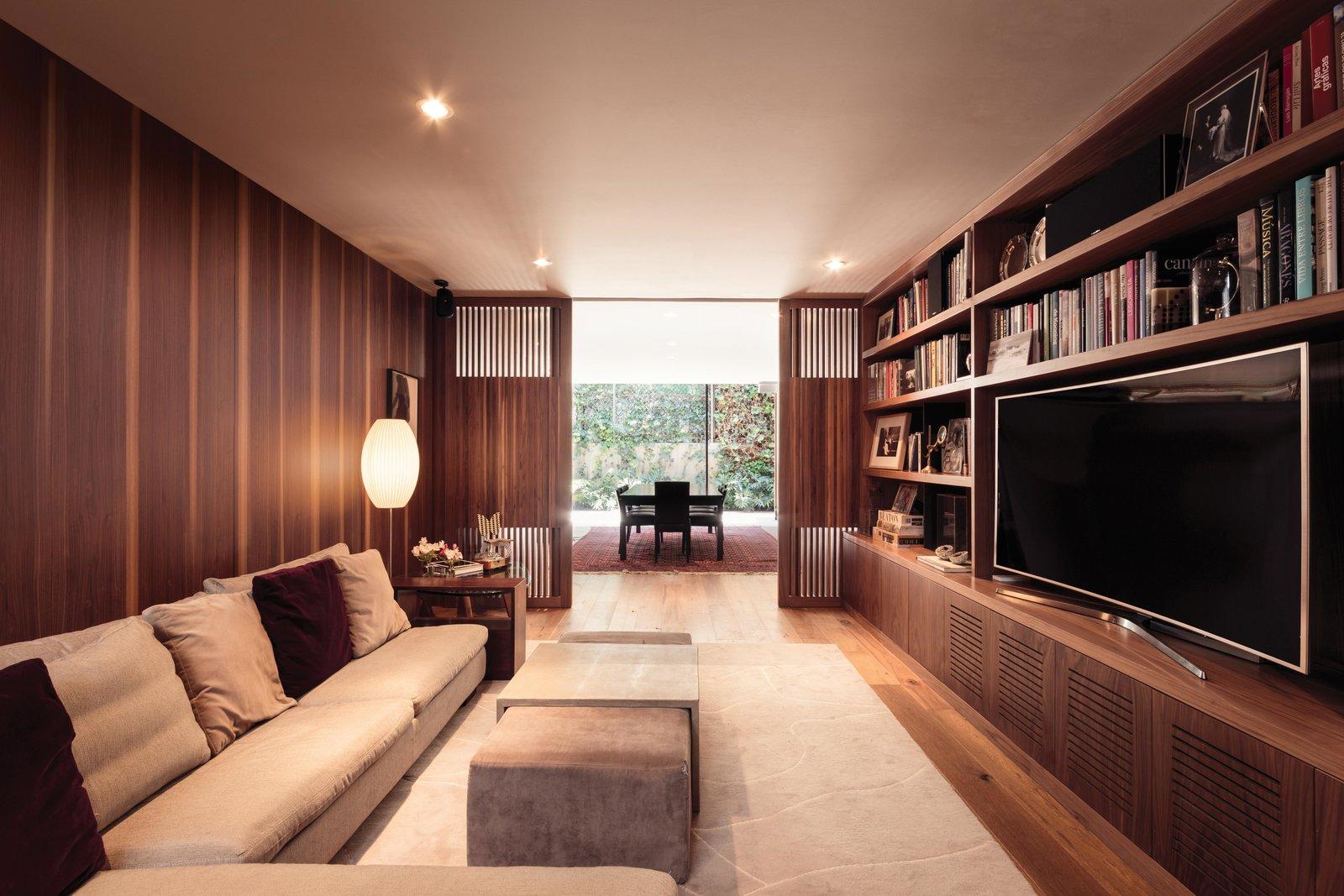 SIERRA FRIA Tagged: Living Room, Sofa, Coffee Tables, and Medium Hardwood Floor.  Sierra Fria by Jose Juan Rivera Rio