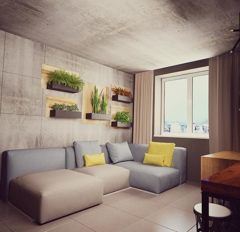 40 m2 smart-apartment by Kassa Design
