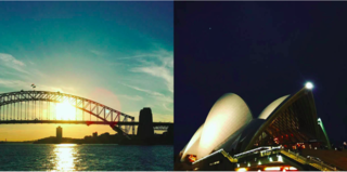 Instagram / Sydney / Australia - Photo 13 of 13 - The harbor from The Manly Ferry, Left: Sydney Harbour Bridge, Right: The Sydney Opera House, designed by Jorn Utzon, 1973, Photography: Marcus Hay for SMH, Inc