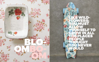 Bloom Boom - Photo 3 of 9 - Left: Unknown, Right: Urban Outfitters skateboard