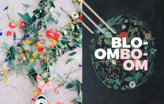Bloom Boom - Photo 4 of 9 - Left: Image from vsco.it, Right: Flora Print by the very talented  Britt Hermann/ Etsy