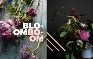 Bloom Boom - Photo 7 of 9 - Left: From one of my favorite Photographers and fellow Australian Martyn Thompson, A master at flower photography, Right: The very talented Erba Studio based out of Portland
