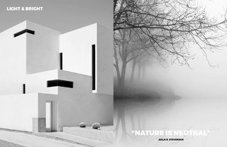 Left: Image by the amazing Photographer Nicholas Alan Cope Right: From: French landscape from Brume, Nature is our best source