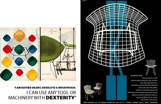 Inspiring Icon / Harry Bertoia - Photo 4 of 7 - Courtesy of Knoll, Harry Bertoia posters