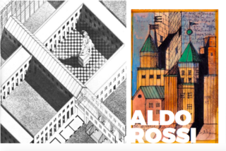 Inspiring Icons/ Aldo Rossi - Photo 8 of 9 - More of Aldo Rossi's amazing sketches for his projects