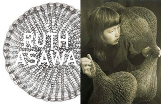 Inspiring Icons / Ruth Asawa - Photo 4 of 5 - Left: Bowl, 1950's, Right: Portrait by Imogen Cunnningham