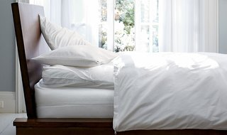 How to Care for Your Bedding - Photo 3 of 5 - Mattress, pillow and duvet protectors reduce dust mites and guard against spills; Source: The Company Store
