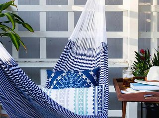 Wedding Registry Gifts, by Zola - Photo 6 of 7 - Cozy up with a good book in this comfy hammock; Source: Zola