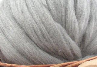 What Is Merino Wool? - Photo 2 of 3 - Natural undyed Merino wool fibers are perfect for spinning; Source: LaughingLambFibers.com