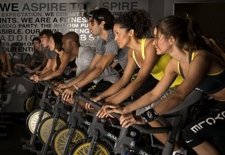 5 Amazing Experiential Gifts, from Zola - Photo 4 of 5 - Don't let the workouts stop just because the wedding is over; Source: SoulCycle