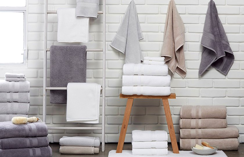 Fact: You can never have too many Towels; Source: Nicole LaMotte/Parachute  Photo 3 of 7 in Bath Collection: Behind the Design + Styling Tips
