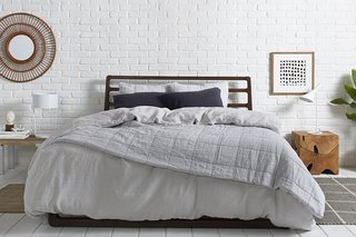 Essential Quilts: Behind the Design + Styling Tips - Photo 4 of 8 - Fifty shades of grey: Bedding edition; Source: Nicole LaMotte/Parachute