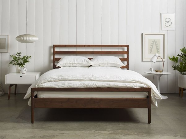 Handmade Wood Bed Frame