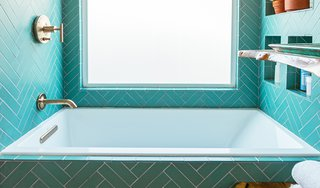 9 Beautiful Bathtubs - Photo 9 of 9 - Source: Justina Blakeney