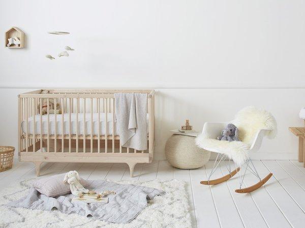 Linen Crib Sheet