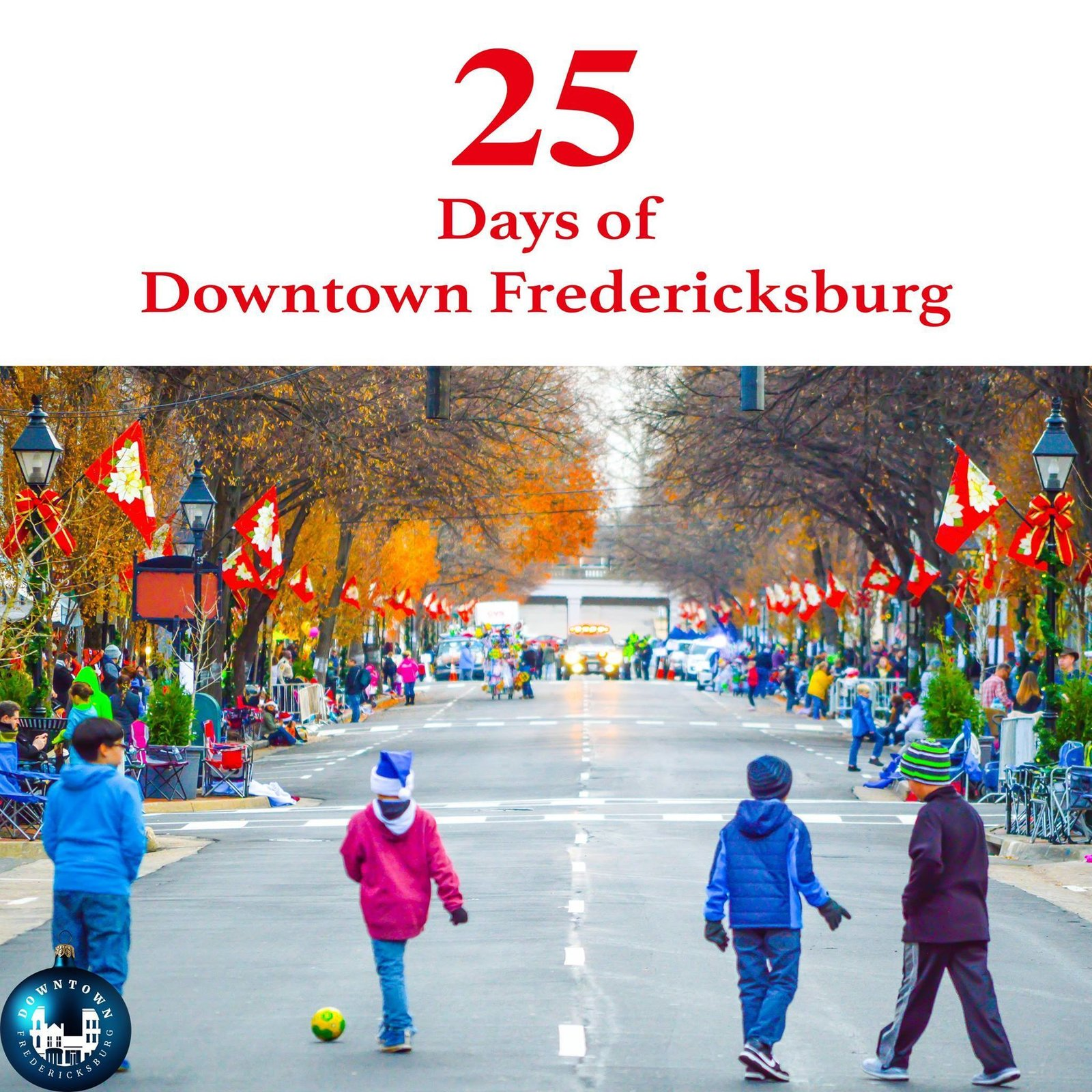 Gift Twenty-five The last gift on our list is something you can't buy. It's the gift of family and friends wrapped in love.  Merry Christmas from Downtown Fredericksburg. https://www.facebook.com/DowntownFredericksburg/  25 Days of Downtown Fredericksburg by Downtown Fredericksburg