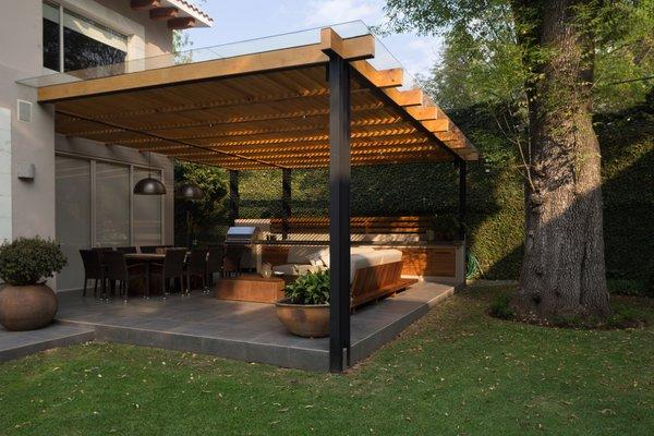 Photo 7 of COESPACIO  San Angel Terrace in Mexico City modern home