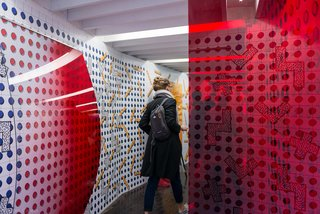 DISPOSITION - Photo 1 of 9 - Entrance DISPOSITION installation during Dutch Design Week 2016