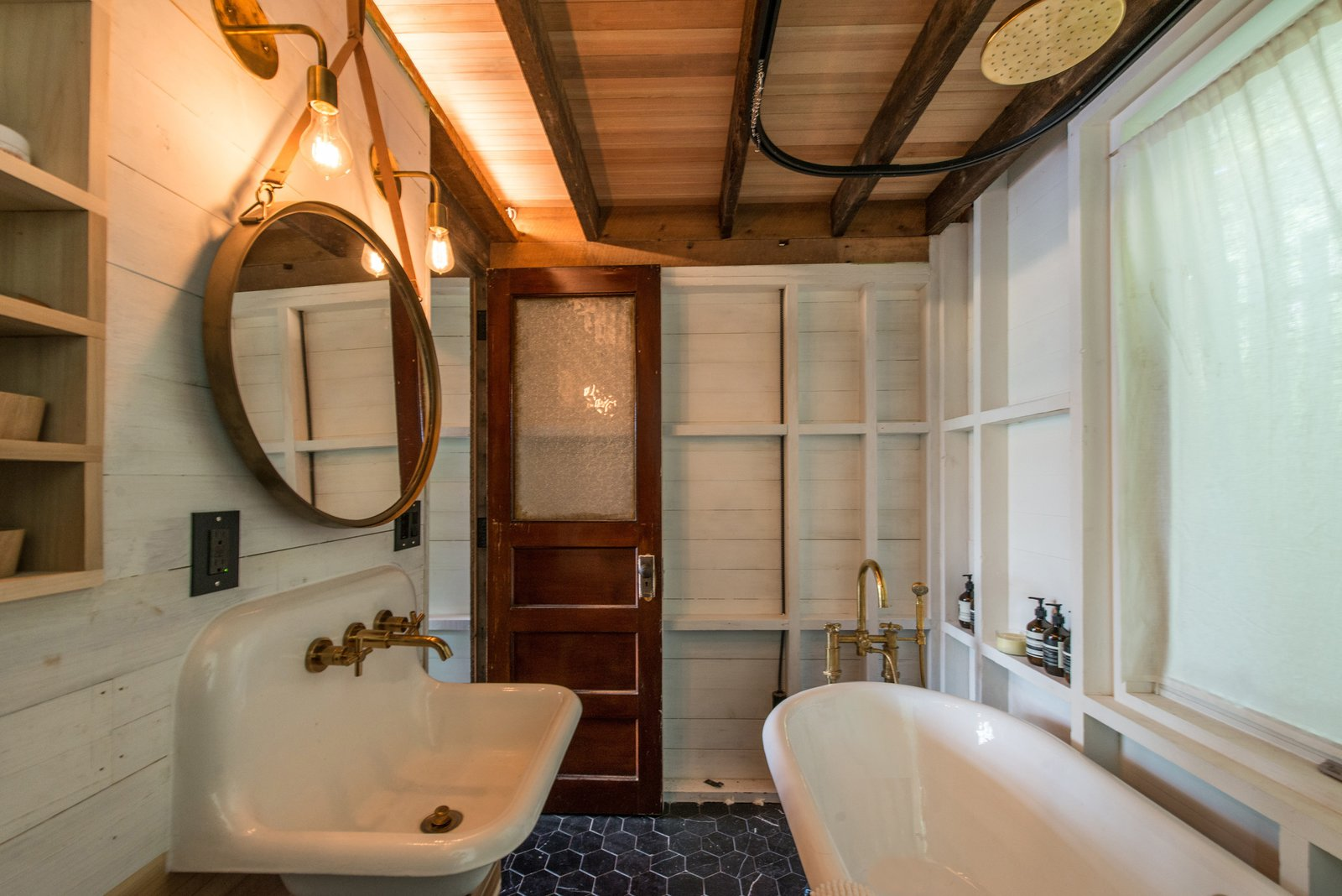 Bathroom  Putnam Valley Lake House by LEAD
