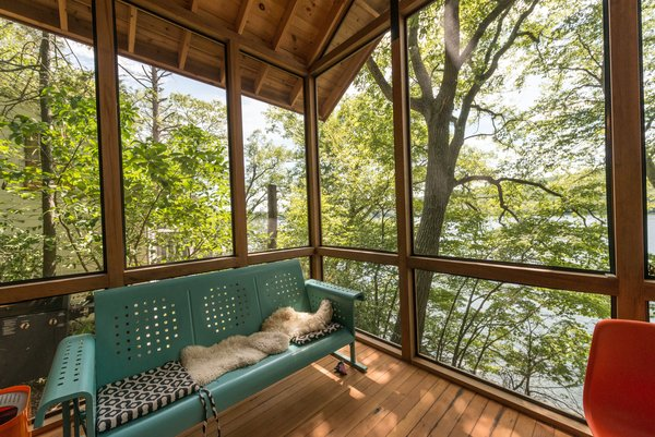 Porch View Photo 7 of Putnam Valley Lake House modern home