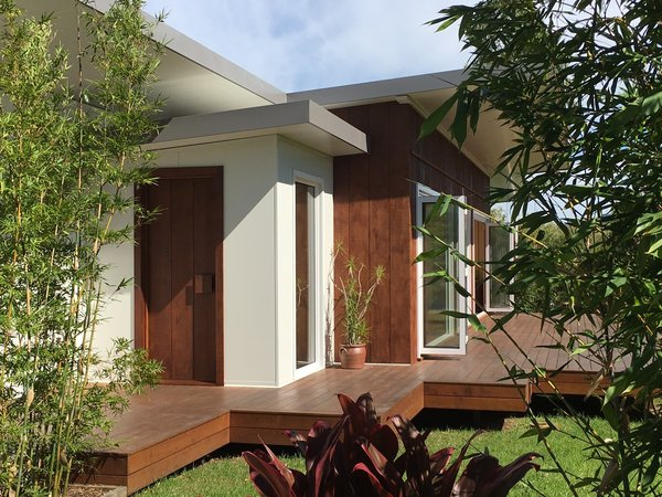 Back to simplicity... Sustainable, energy efficient and solar passive home on the NSW South Coast.  Private, quiet and healthy. Photo  of South Coast Serendipity modern home