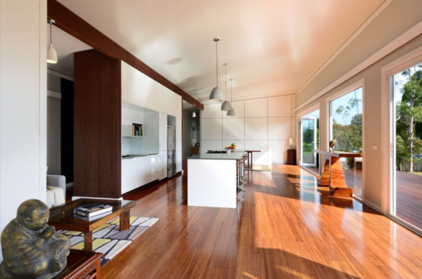 Flexible open plan living for every lifestyle and season... Photo 4 of South Coast Serendipity modern home