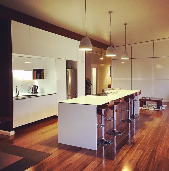 Kitchens should be functional, practical and beautiful at all times of the day. Photo 5 of South Coast Serendipity modern home