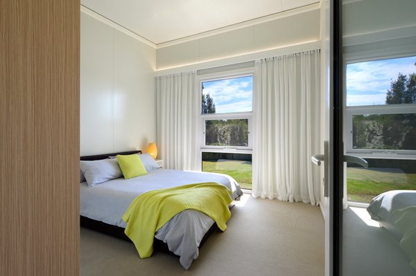 Beautiful light filled bedrooms. Photo 6 of South Coast Serendipity modern home